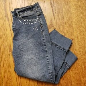 Women's Jean Capris Baccini Size 12
